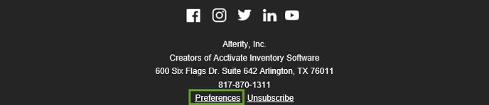EmailPreferences