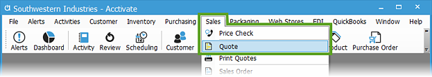 Sales-Quote-Menu-1