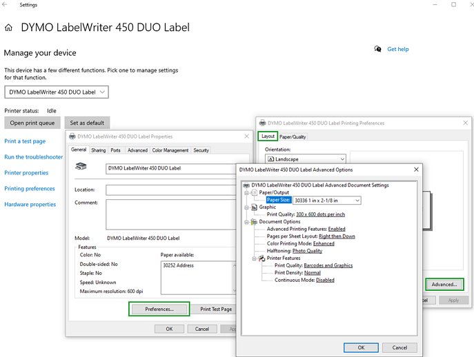 WindowsPrinterSockDefault_Prefereces-AdvancedOptions