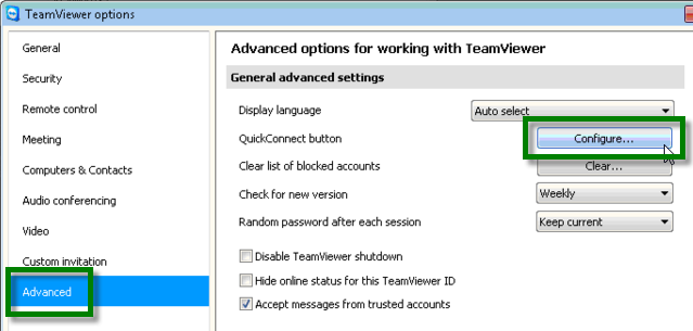 TeamViewerAdvancedOptions