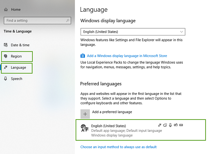 WindowsRegionalLanguage