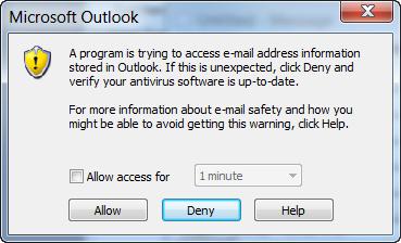 outlook-warning