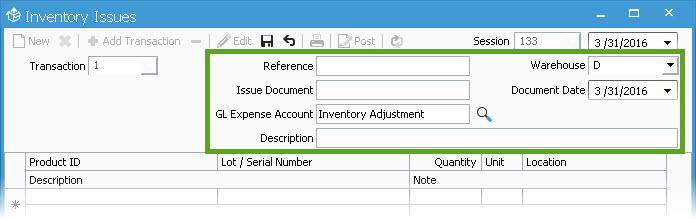 Inventory-Issue-Header